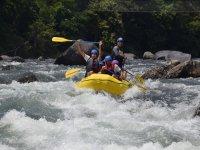 Happy practicing rafting