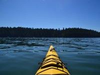 Vista desde un paseo en kayak