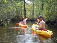Diferentes las rutas para Kayak