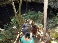 Descent to the cenote
