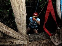 Descending with rope