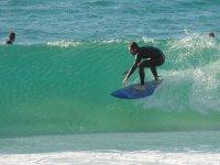 Clases con instructores de Surf