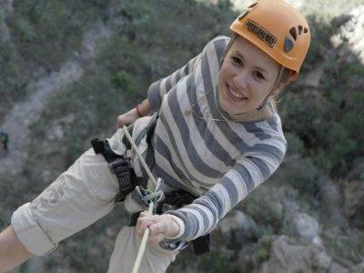 Rappel + climbing, Nido de los Aguiluchos