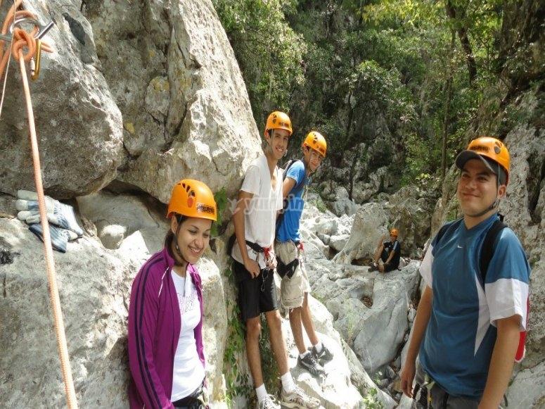 Grupo e instructores