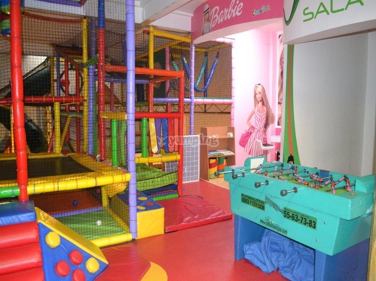 Kid's birthday parties place