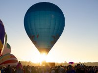 Hot Air Balloons over the state of Hidalgo