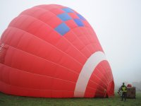 Hot Air Balloon flight over the valleys