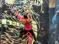 Enjoy a day of climbing on our fun walls