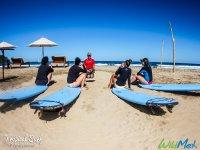 Clases en la playa
