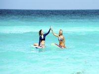 Playa, sol, amigos y Surf