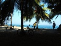 Cycling and beach
