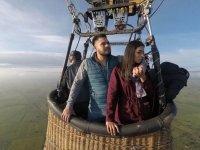 El paseo en globo más especial en pareja