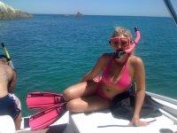 A snorkel