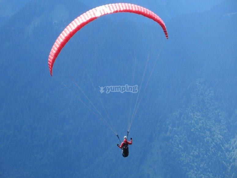 Flight in Valle de Bravo