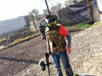 Paintball match in Cuautitlán