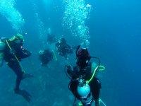 open sea diving