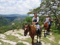 Horseback riding in the San Miguel de Allende Canyon 5 h