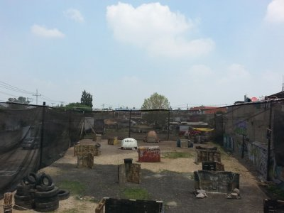 Paquete de 500 balas de paintball en Izcalli