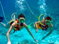 underwater snuba
