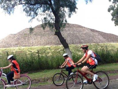 Vagando por Teotihuacán Ciclismo de Montaña
