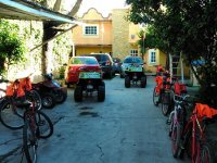 Bikes and ATVs in Teotihuacan