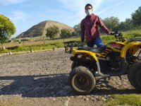 ATV ride Teotihuacan