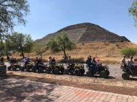 ATVs in Teotihuacan