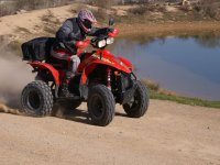 Live an adventure in ATVs