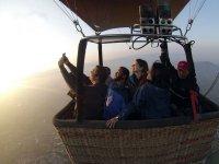 Enjoying the ballooning landscape