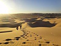 derrapa por el desierto