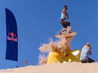 disfruta de la aventura del sandboard