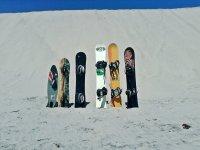 tablas de sandboard