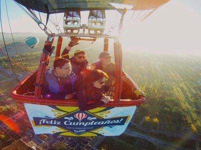 Special balloon flight