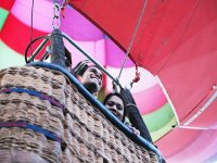 Balloon flight gift in Teotihuacan