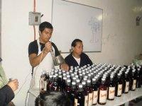 wine and liquor tasting