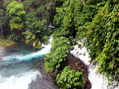 Guided walk between waterfalls by the Actopán River