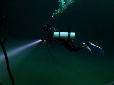 Nocturnal Scuba Diving 1 tank in Playa del Carmen