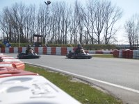 In full race