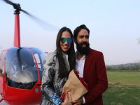Helicopter Flight Over Monterrey for Couples