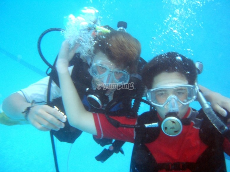Advanced diving course