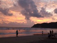 Sunsets in Acapulco