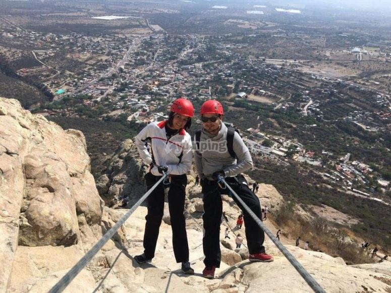 Vive la experiencia de las alturas