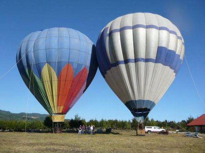 Special New Year's Eve balloon flight in Huasca 3 days