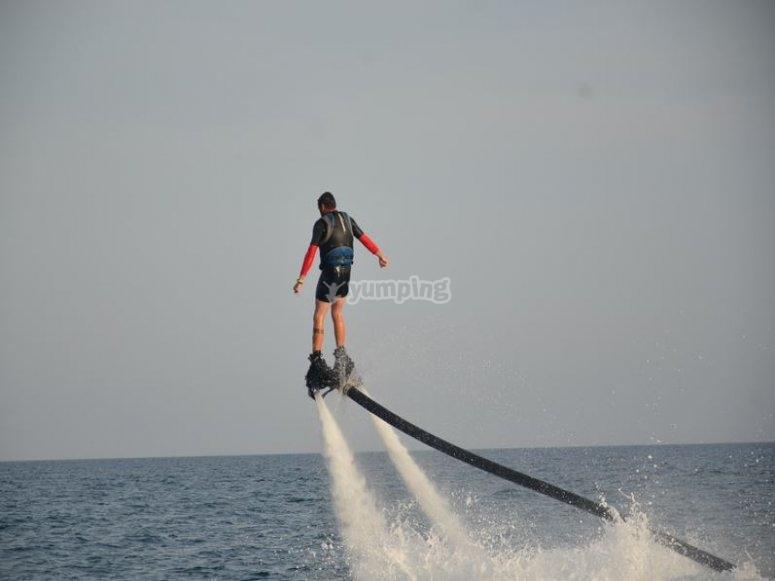 Practica flyboard