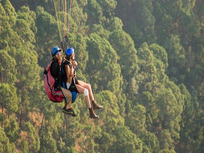 Paragliding Flight in Valle de Bravo 30 min