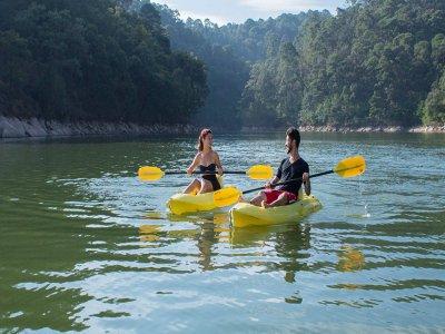 Kayak rental in Valle de Bravo 2 hours