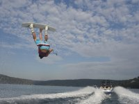 Waterskiing or wakeboarding in  Valle de Bravo