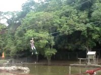 Zoofari zipline
