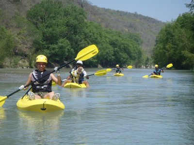Ecotourism, kayak and camping.