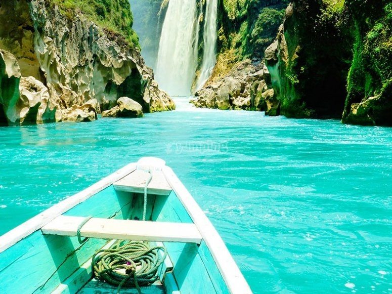 The Huasteca and its water colors